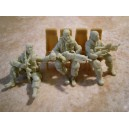 US MODERN GI SEATED FOR CHOPPER set 1 (3Figs.)