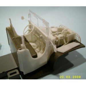 482082 Canvas Cabin for GMC TAMIYA